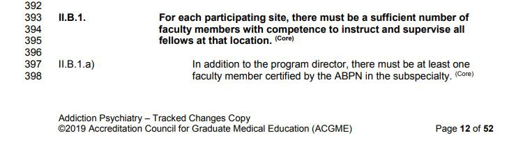 Section II.B.1. of ACGME