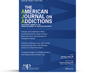Learn more about <em>The American Journal on Addictions</em>